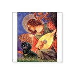 Mandolin Angel & Doxie (BT) Square Sticker 3