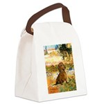 Garden (VG) & Dachshund Canvas Lunch Bag