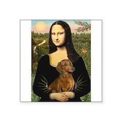 Mona's Dachshund Square Sticker 3