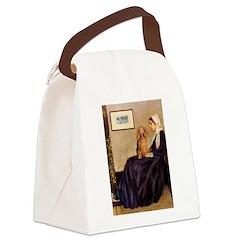Whistler's /Dachshund(LH-Sabl) Canvas Lunch Bag