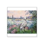 Seine / Dalmatian #1 Square Sticker 3