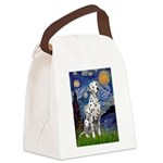 Starry / Dalmatian #1 Canvas Lunch Bag