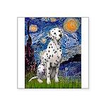 Starry / Dalmatian #1 Square Sticker 3