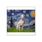 Starry /Dalmatian Square Sticker 3