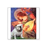 Mandolin Angel & English BD Square Sticker 3