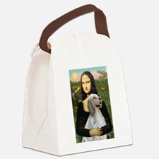 Mona's English Setter Canvas Lunch Bag