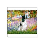 Monet's garden & Springer Square Sticker 3