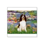 Lilies / Eng Spring Square Sticker 3