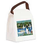 Sailboats / Eng Springer Canvas Lunch Bag