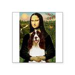 Mona/ English Springer Square Sticker 3