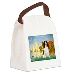 Sailboats / Eng Spring Canvas Lunch Bag