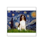 Starry Night / Eng Spring Square Sticker 3