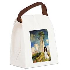 Umbrella / Eng Spring Canvas Lunch Bag