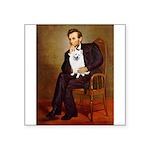 Lincoln / Eskimo Spitz #1 Square Sticker 3