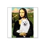 Mona / Eskimo Spitz #1 Square Sticker 3