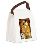 Kiss / Eskimo Spitz #1 Canvas Lunch Bag