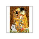 Kiss / Eskimo Spitz #1 Square Sticker 3