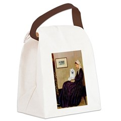 Whistlers / Eskimo Spitz #1 Canvas Lunch Bag