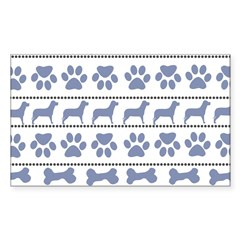 Starry / Two Flat Coated Ret Puzzle Coasters (set