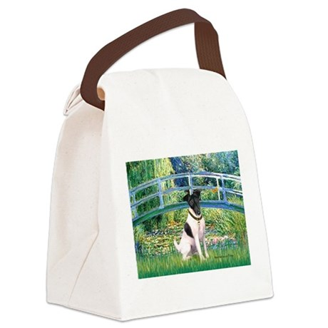 Bridge / Smooth T (#1) Canvas Lunch Bag
