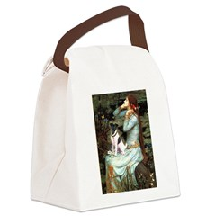 Ophelia / Fox T Canvas Lunch Bag