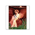 Angel / Smooth T (#1) Square Sticker 3