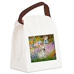Garden / Fr Bulldog(f) Canvas Lunch Bag
