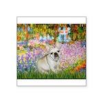 Garden / Fr Bulldog(f) Square Sticker 3