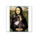 Mona / Fr Bulldog(brin) Square Sticker 3