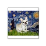 Starry / Fr Bulldog (f) Square Sticker 3