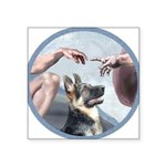 Creation-G-Shep (15) Square Sticker 3