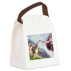 Creation / German Shepherd #2 Canvas Lunch Bag