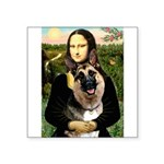 Mona's G-Shepherd Square Sticker 3