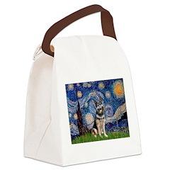 Starry / German Shepherd 10 Canvas Lunch Bag
