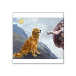 Creation (#2) & Golden Square Sticker 3