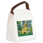 Bridge & Golden Canvas Lunch Bag