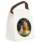 MidEve-Golden 11 Canvas Lunch Bag
