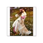 Windflowers / Golden Square Sticker 3