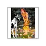 Fairies / Gr Dane (h) Square Sticker 3