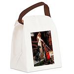 Accolade / Gr Dane (bl) Canvas Lunch Bag