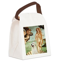 Venus / Great Pyrenees Canvas Lunch Bag