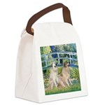 Bridge / Great Pyrenees (2) Canvas Lunch Bag