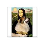 Mona / Gr Pyrenees Square Sticker 3