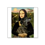Mona / Greyhound(br) Square Sticker 3