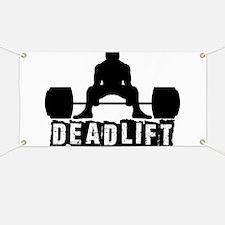 Deadlift Black Banner