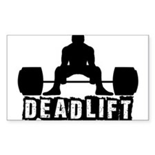 Deadlift Black Decal