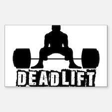 Deadlift Black Decal