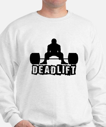 Deadlift Black Sweater