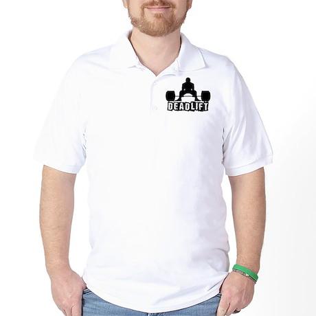 Deadlift Black Golf Shirt