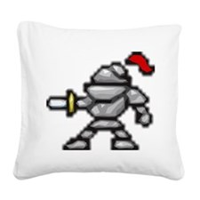 knightscharge Square Canvas Pillow